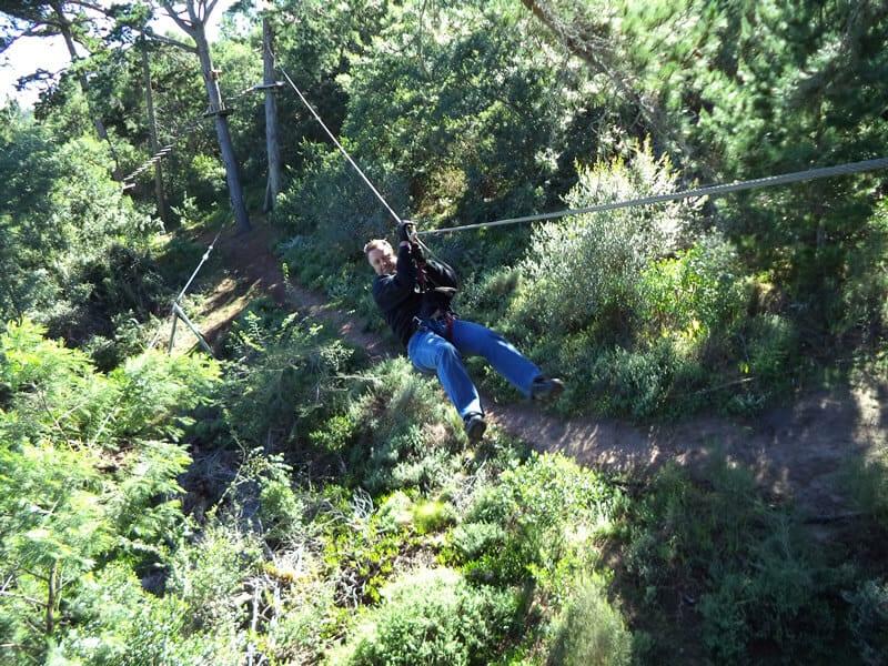 Johannesburg Outdoor Activities Team Building Zip Line